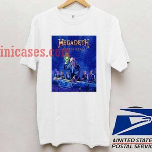 Megadeth Rust in Peace T shirt