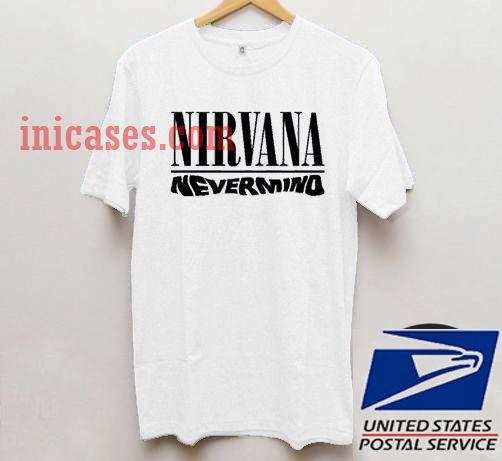 5dd78afc Nirvana Nevermind T shirt