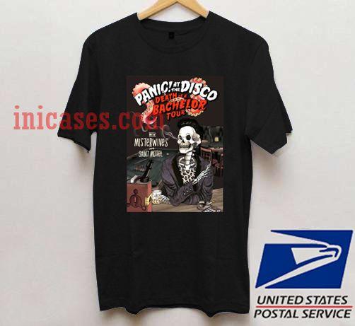 Panic At The Disco Tour 2017 T Shirt
