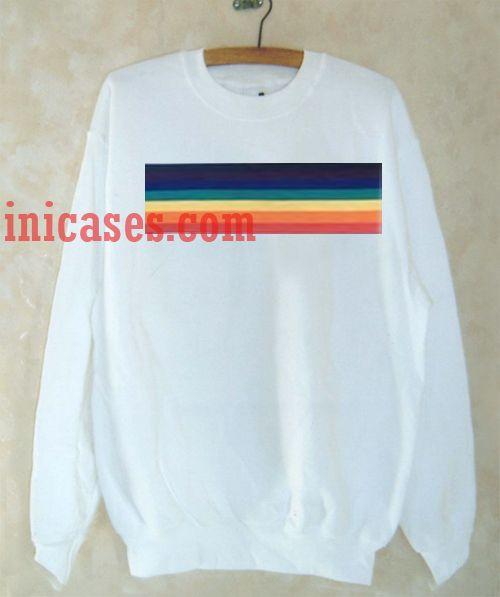 Rainbow 70's Sweatshirt for Men And Women