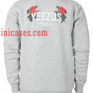 Yeezus Tour flower Sweatshirt for Men And Women