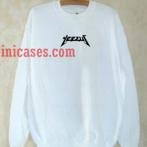 Yeezus White Sweatshirt for Men And Women
