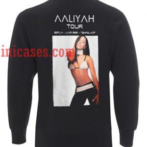 aaliyah tour berlin june 2001 tempelhof Sweatshirt for Men And Women