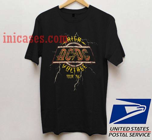 ACDC High Voltage Tour 76 T shirt