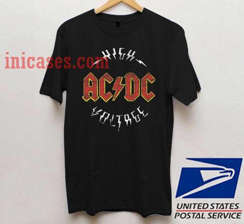 ACDC High Voltage T shirt