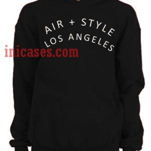Air Style Los Angeles Hoodie pullover