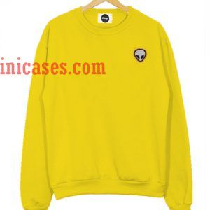 Alien yellow Sweatshirt for Men And Women
