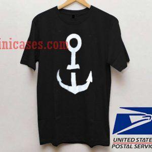 Anchor logo T shirt