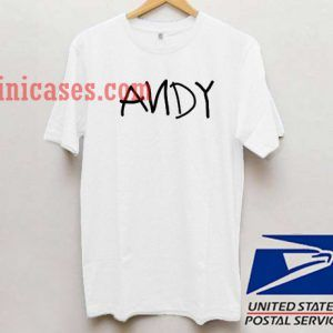 Andy T shirt