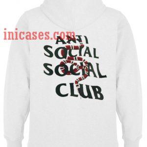 Anti Social Social Club Snake Hoodie pullover