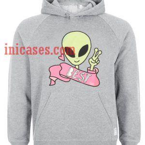 Best Friend Alien Hoodie pullover