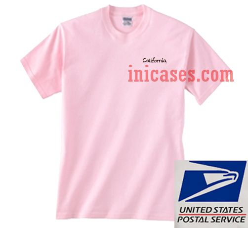 California Pink T shirt