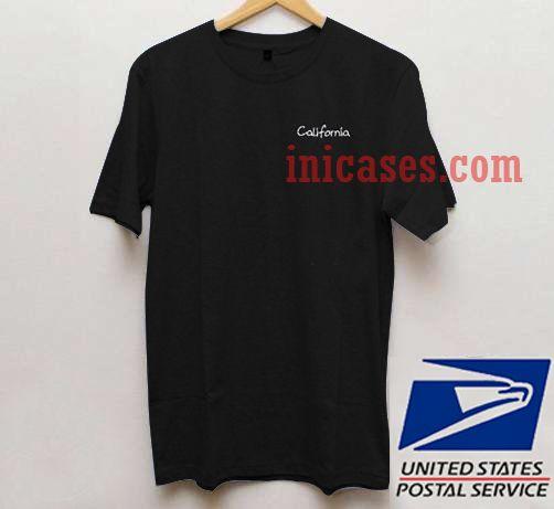 California black T shirt