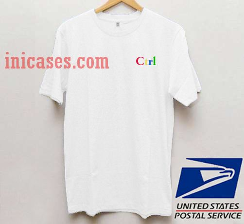 Ctrl T shirt