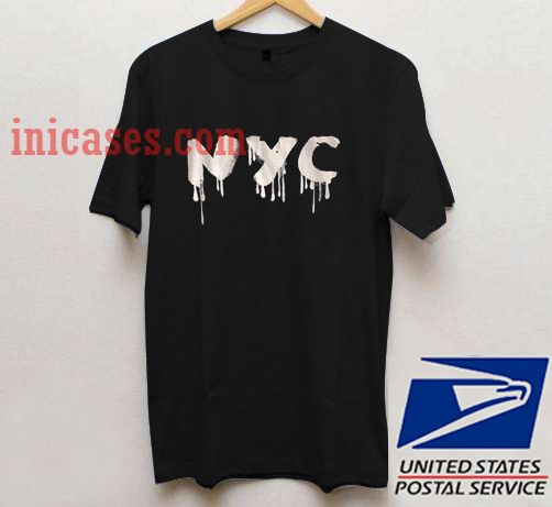 Distressed NYC T shirt