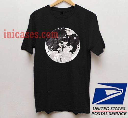 Earth planet T shirt