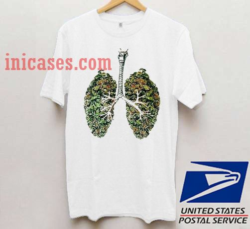 Lungs forest T shirt