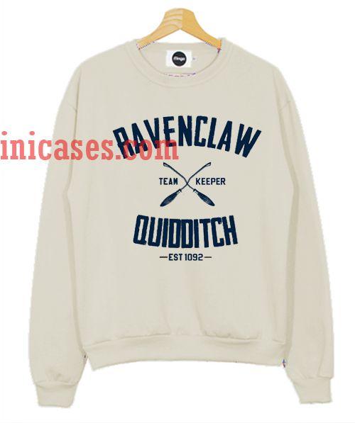 ravenclaw quidditch sweatshirt - 500×597