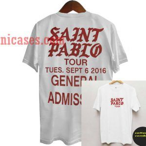 Saint Pablo Tour T shirt