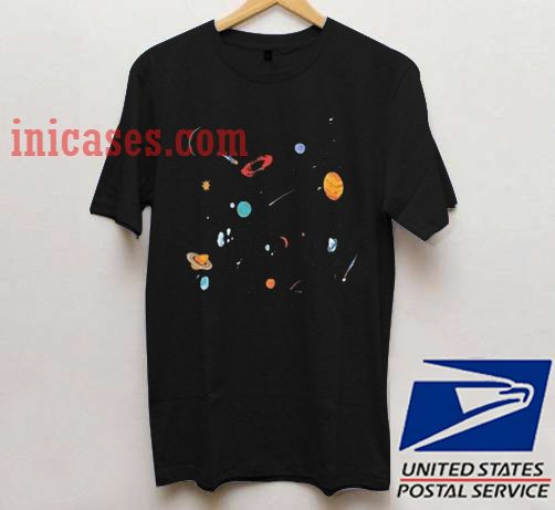 Space planet T shirt