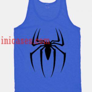 Spider-man logo tank top unisex