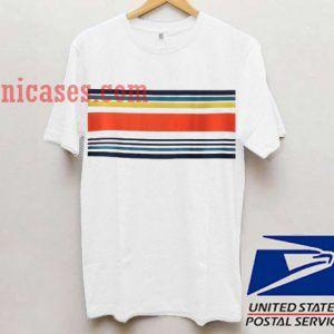 Striped colour T shirt
