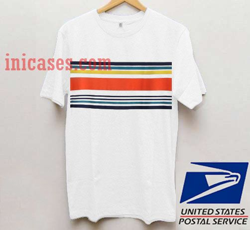 Striped colour T shirt