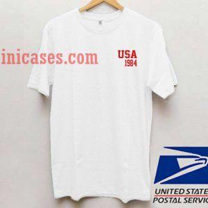 USA 1984 T shirt