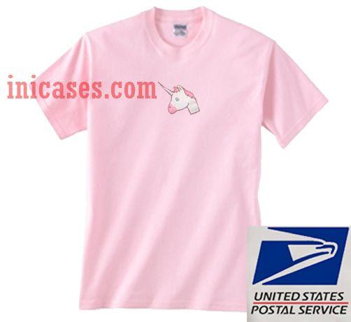 Unicorn Head T shirt