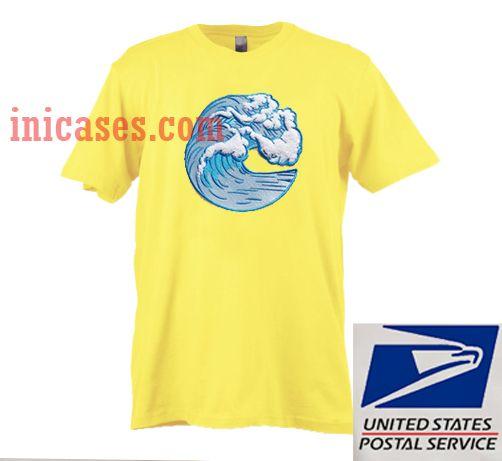Wave Yellow T shirt