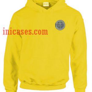 Yoonsan yellow Hoodie pullover
