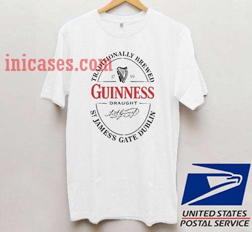 guinness logo T shirt