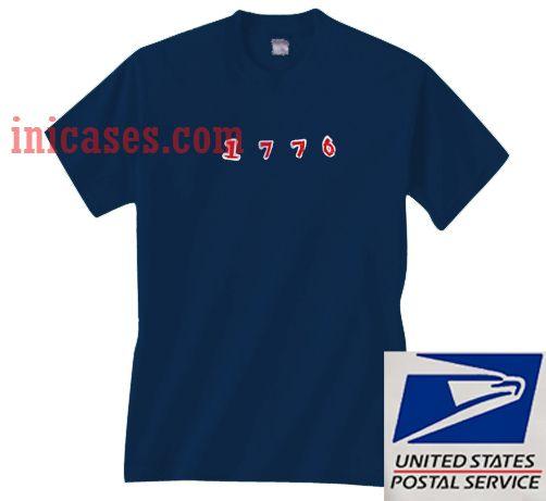 1776 navy T shirt