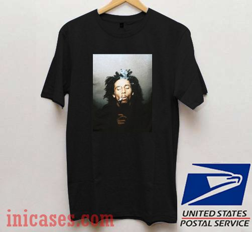 Bob Marley Smoking T shirt