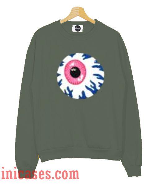 Dark Grey Eye Sweatshirt Men And Women