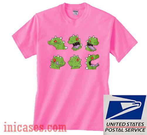 Junk Food Rugrats Reptar T shirt