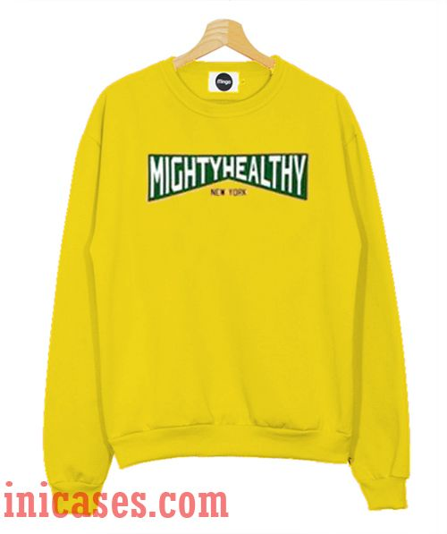 Mightyhealty New York Sweatshirt Men And Women