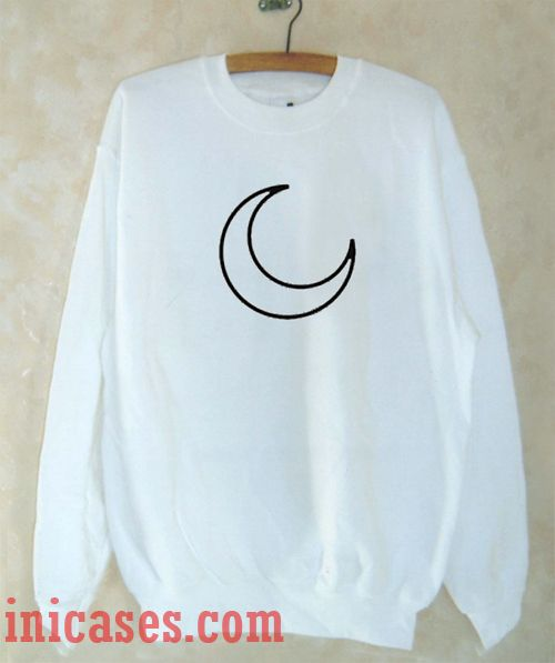 Moon Sweatshirt Men And Women