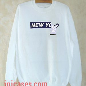 New york typography Sweatshirt Men And Women