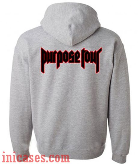 purpose tour grey hoodie pullover. Black Bedroom Furniture Sets. Home Design Ideas