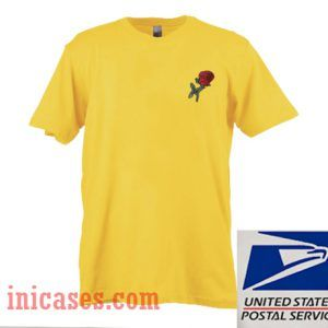 Rose yellow T shirt