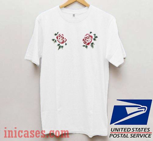 Two Flowers T shirt