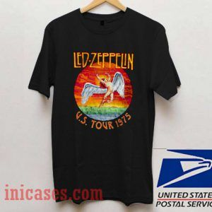 led zeppelin us tour 1975 T shirt