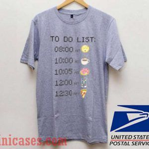 time to do list T shirt