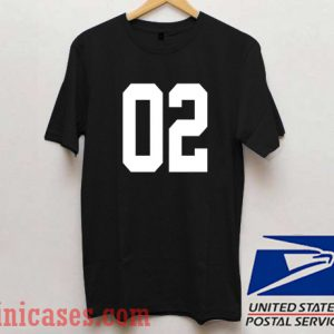 02 Number T shirt