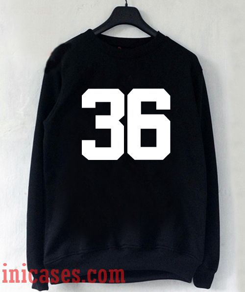 36 Number Sweatshirt Men And Women