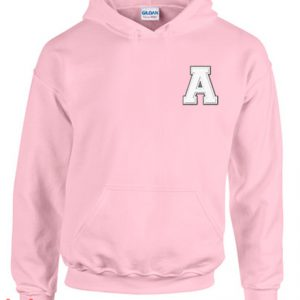 A Alphabet Hoodie pullover