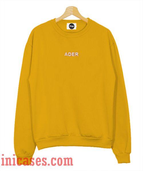Ader Sweatshirt Men And Women
