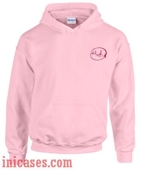 Aloha Pink Hoodie pullover
