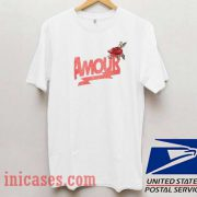 Amour Rose T shirt
